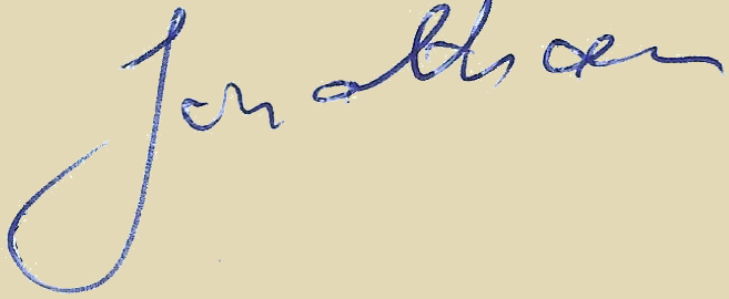 Jonathan signature